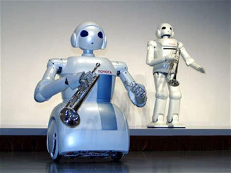 Toyota Robot Robot Toyota Partner Robot Ver 8 Violin Robot
