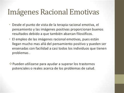 imagenes emotivas terapia teor 237 a y tecnica de la terapia racional emotiva