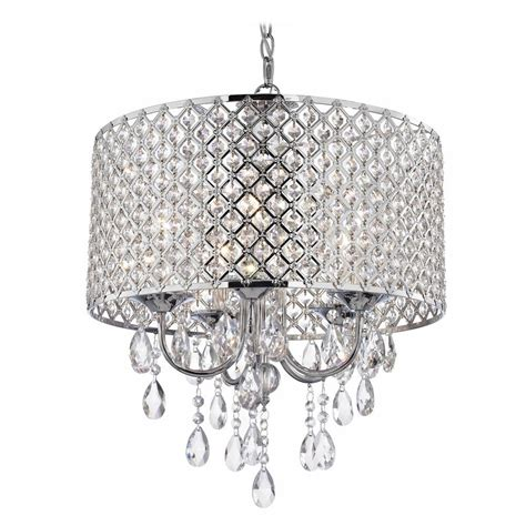 Chandelier With Shades And Crystals Chandelier With Drum Shade And Crystals Chandeliers Pinterest Lights And Ls