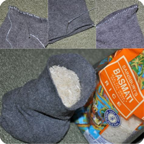diy sock heat pack my ethical wardrobe an update an rice easy