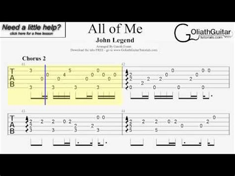 tutorial kunci guitar all of me full download all of me john legend guitar lesson chord