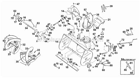 Ariens 10962 Parts List And Diagram 000001