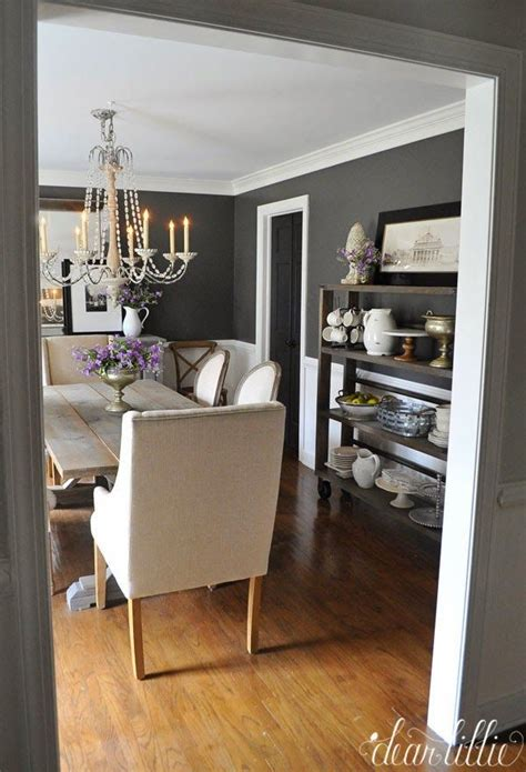 kendall dining room kendall charcoal in our dining room dear lillie bloglovin