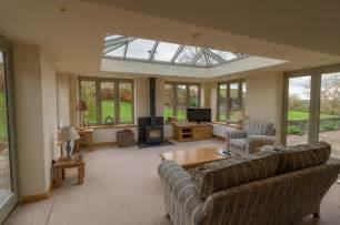 living room conservatories linked living room orangery style with woodburner modern conservatory west midlands by