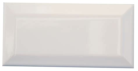 matte fliesen 1 m2 metro gloss white bevelled 150 x 75 gloss finish