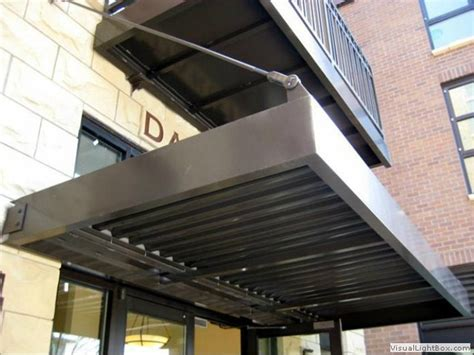 Architectural Metal Awnings Global Metal Works And Erectors