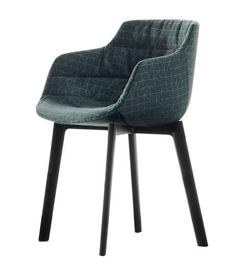 mdf sedie flow tessile mdf italia sedia con gambe cross milia shop