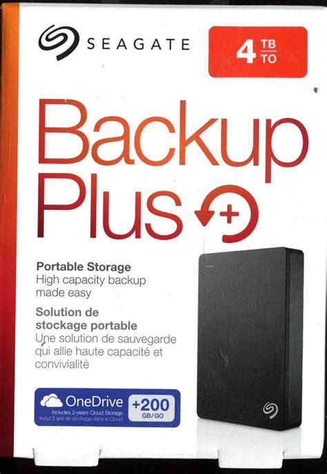 Seagate Backup Plus 4 Tb Portable Hd seagate 4tb ext backup port