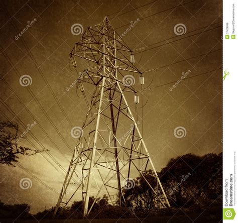 the square and the tower networks and power from the freemasons to books electric power tower royalty free stock images image