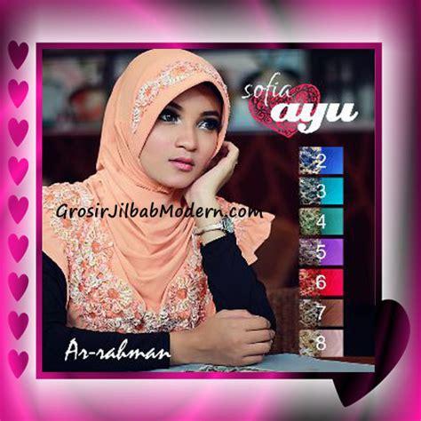 Jilbab Instan Ananta By Wong Ayu jilbab cantik terbaru sofia ayu original by ar rahman grosir jilbab modern jilbab cantik
