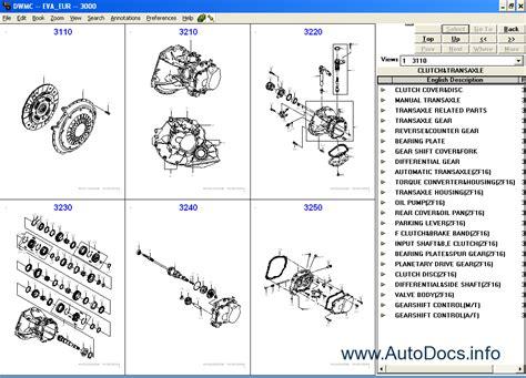 service manuals schematics 1999 daewoo nubira spare parts catalogs daewoo epc electronic spare parts catalogue daewoo leganza nubira lanos matiz tacuma evanda