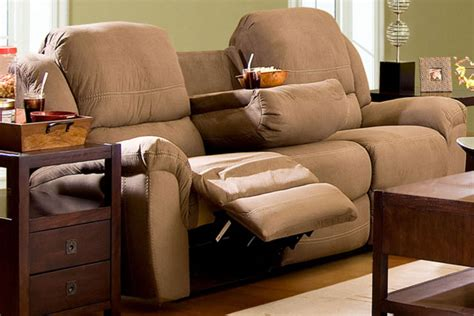 reclining sofa with table lazarus reclining sofa with table
