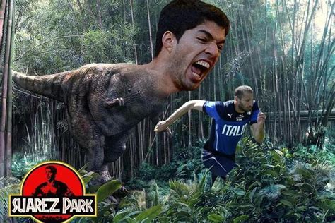 Luis Suarez Meme - luis suarez banned nine matches for bite stuff co nz