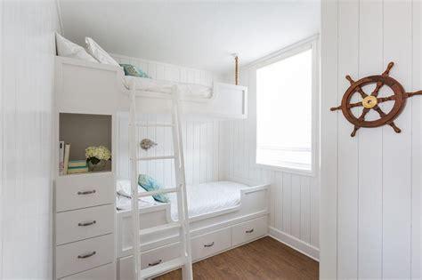 bunk beds with dresser built in modern kids bed ladder design ideas
