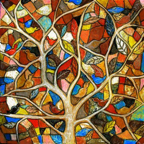 folk art tree art pinterest folk art and folk