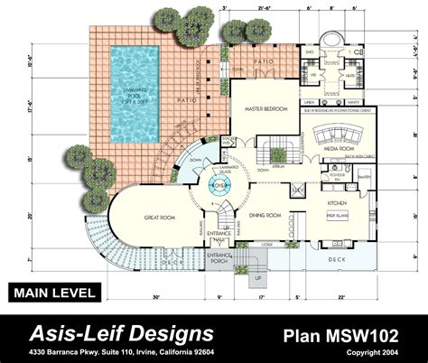 interesting floor plans free home plans unusual house plans