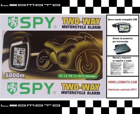 Alarm Spy5000m alarma de moto spy5000m con m 243 dulo sensor de presencia por