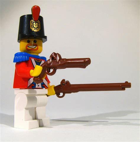 Lego Original Pirate Gun brickarms musket and flintlock pistol now available pirate mocs eurobricks forums