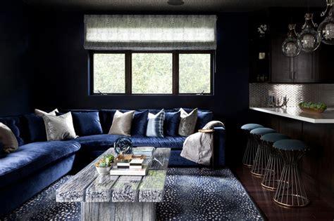 navy blue living room furniture modern house navy blue photo page hgtv