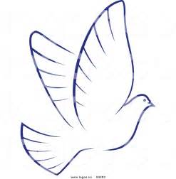 white dove template clip of outline of dove pictures to pin on