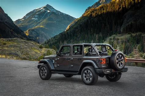 jeep unlimited 2018 2018 jeep wranger unlimited sahara automobile magazine
