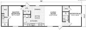 Dealer Floor Plan Loans Hallsburg 16 X 56 849 Sqft Mobile Home Factory Expo Home