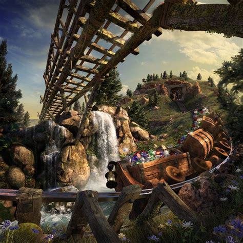 disney new fantasyland seven dwarfs mine concept climb aboard for disney discounts at disney world