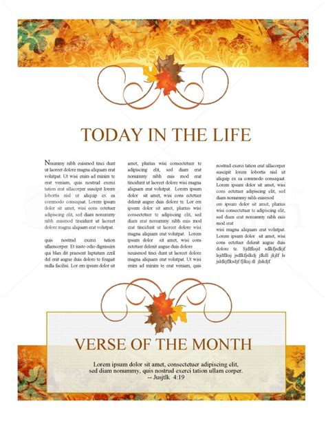 free november newsletter templates of thanksgiving newsletter template newsletter