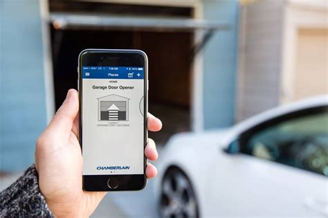 Chamberlain Garage Door Opener App Review Why A Smart Home Starts In The Garage Wsj