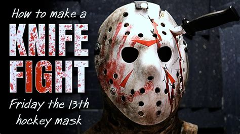 How To Make A Jason Mask Out Of Paper - how to make a quot knife fight quot jason mask friday the 13th