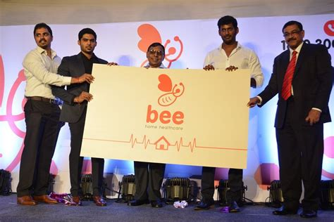 chennai365 actor vishal launches bee home care