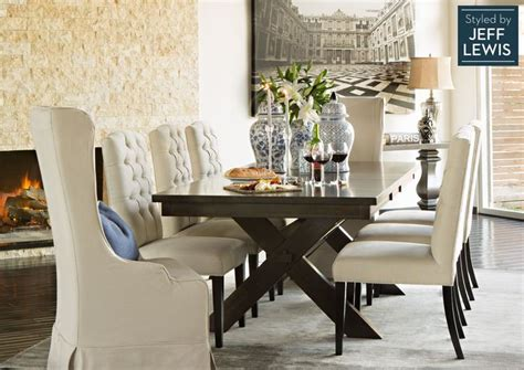 dining room living spaces laidback luxury styled by jeff