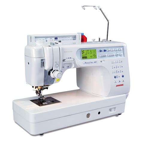 Janome Memory Craft janome memory craft 6600 janome sewing quilting machine