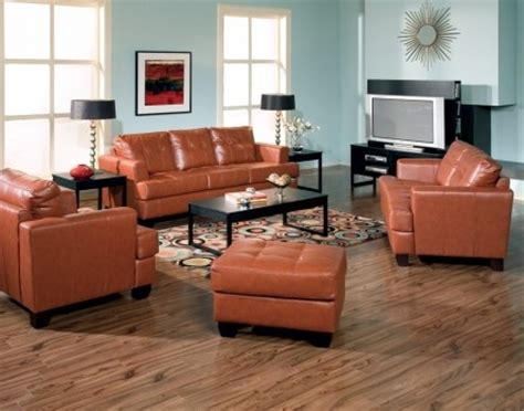 burnt orange leather living room furniture 9 best images about living room on orange sofa modern and colors
