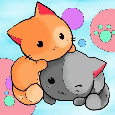 imagenes kawaii de nekos kawaii anime chibi neko taringa