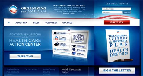 organizer for america 23 colorful and smart exles of beautiful web designs
