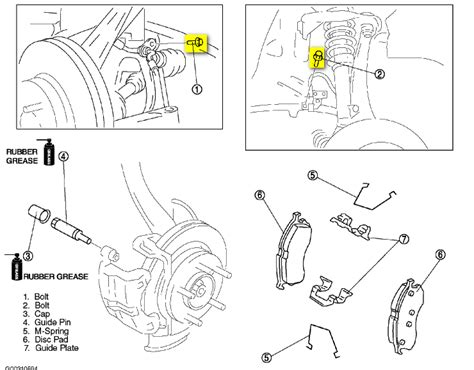 service manual 1997 mazda millenia front brake rotor removal diagram service manual 1998