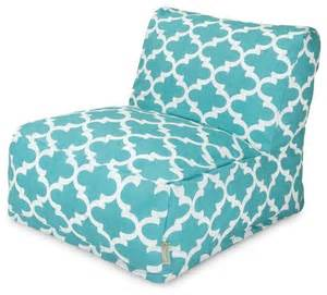 trellis bean bag chair teal lounger midcentury patio furniture and outdoor furniture by