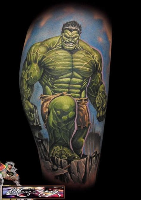 hulk tattoos the randy engelhard http tattoosgeek