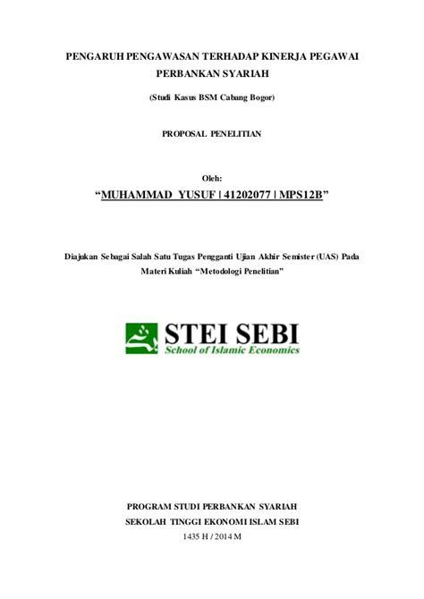 skripsi akuntansi syariah mudharabah contoh proposal skripsi