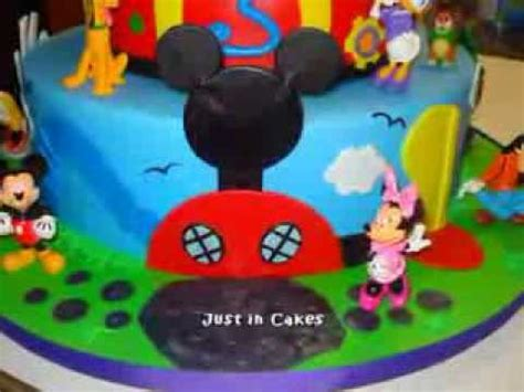 mickey mouse clubhouse schlafzimmer ideen mickey mouse club house cake