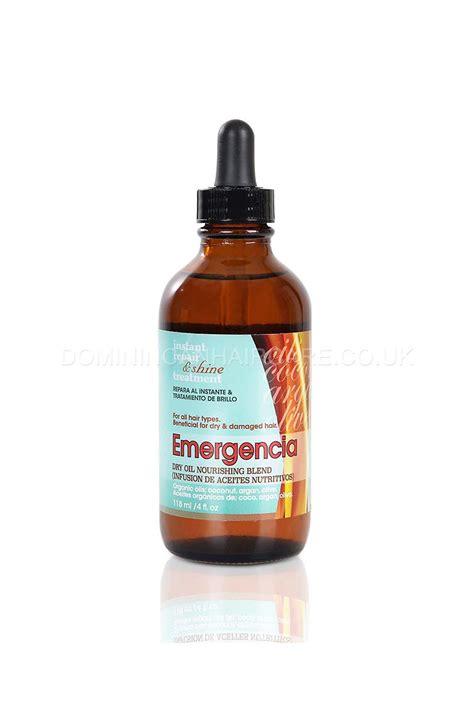 dominican oil for hair emergencia nourishing dry oil for hair blend 118ml