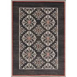 Outdoor Rug 8 X 10 Hton Bay Medallion Border Grey Medallion 8 Ft X 10 Ft Indoor Outdoor Area Rug