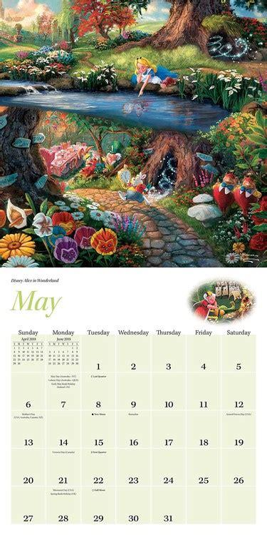 1449453562 thomas kinkade the disney dreams thomas kinkade the disney dreams collection calendars