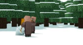 gif christmas gaming snowman animation minecraft villager