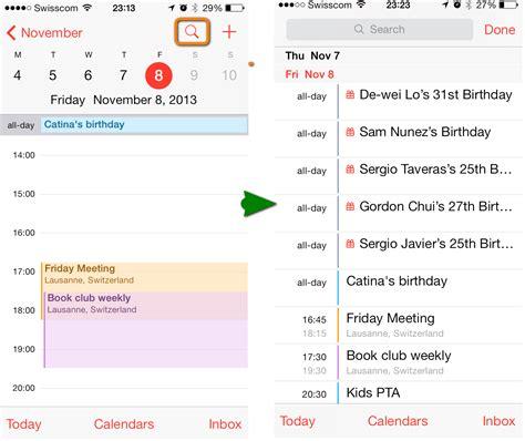 calendar layout ios calendar events gone iphone calendar template 2016