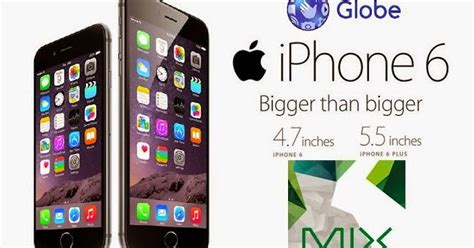 0 iphone plans globe iphone 6 iphone 6 plans mix of everything