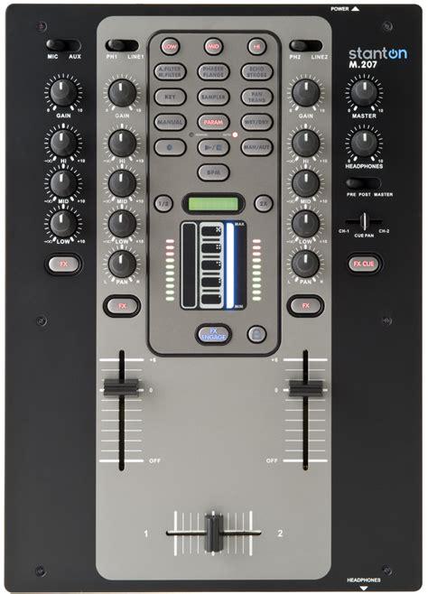 Mixer Lg stanton m 207 dj equipment dj gear phono cartridges