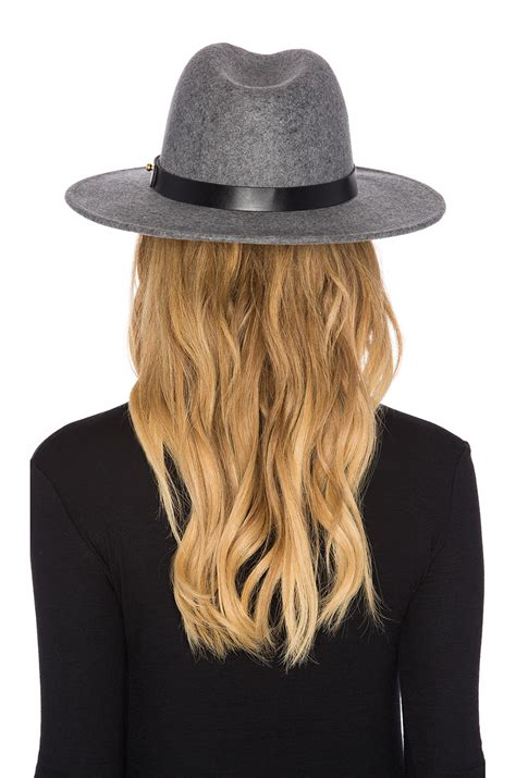 lack of color lack of color the noise hat in gray lyst