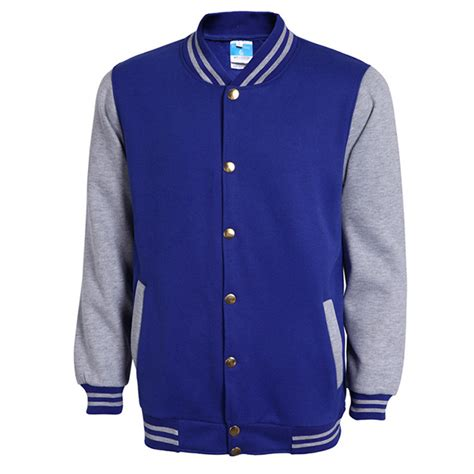 Jaket Sweater Jaket Clasic Basseball classic blue varsity baseball jacket veste homme 2016 autumn fashion brand slim fit bomber